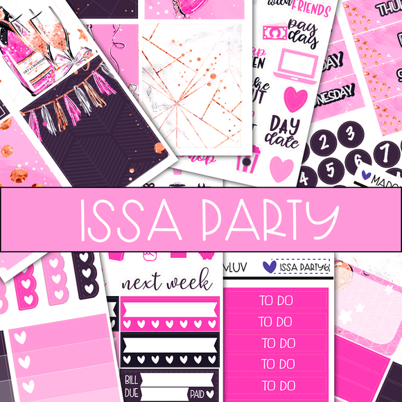 ISSA PARTY MINI KIT BUNDLES