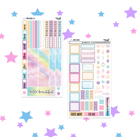 HK026| HELLO BEAUTIFUL- 2 PAGE HOBONICHI WEEKS KIT