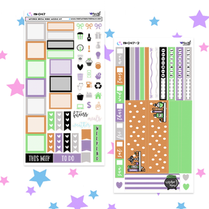 WITCHES BREW HOBONICHI WEEKS KIT - HKO47 - 2 PAGE HOBONICHI KIT