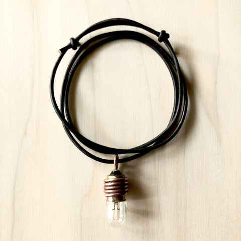 BRIAN CARLSON | LIGHT | BULB NECKLACE | JEWELRY