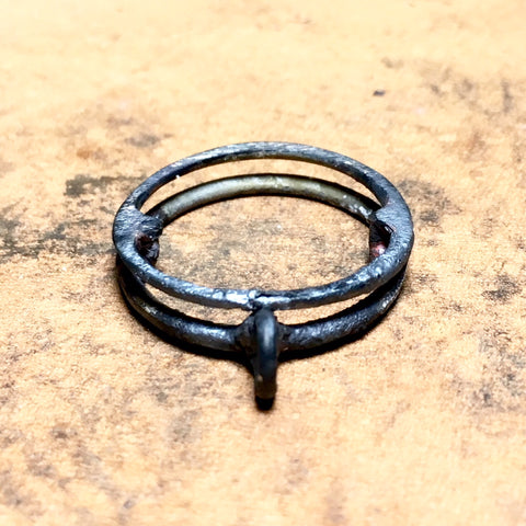 GUIDE GATOR COPPER CHOKER WELDING RING - BRIAN CARLSON ONLINE STORE - JEWELRY