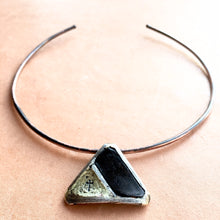 TRANSFORM TRIANGLE CROSS CHOKER - BRIAN CARLSON ONLINE STORE