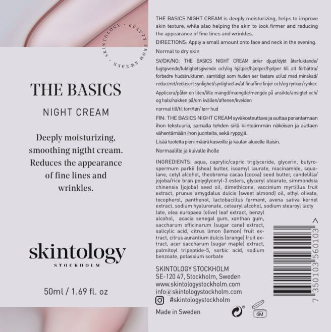 The Basics Night Cream - Trial Size