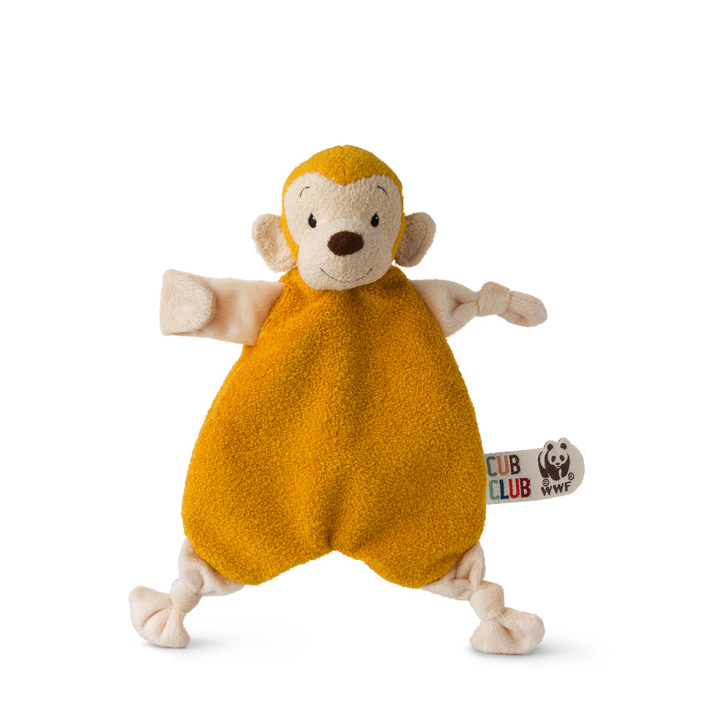 Mago the Monkey Yellow Soother | WWF - Just Add Milk