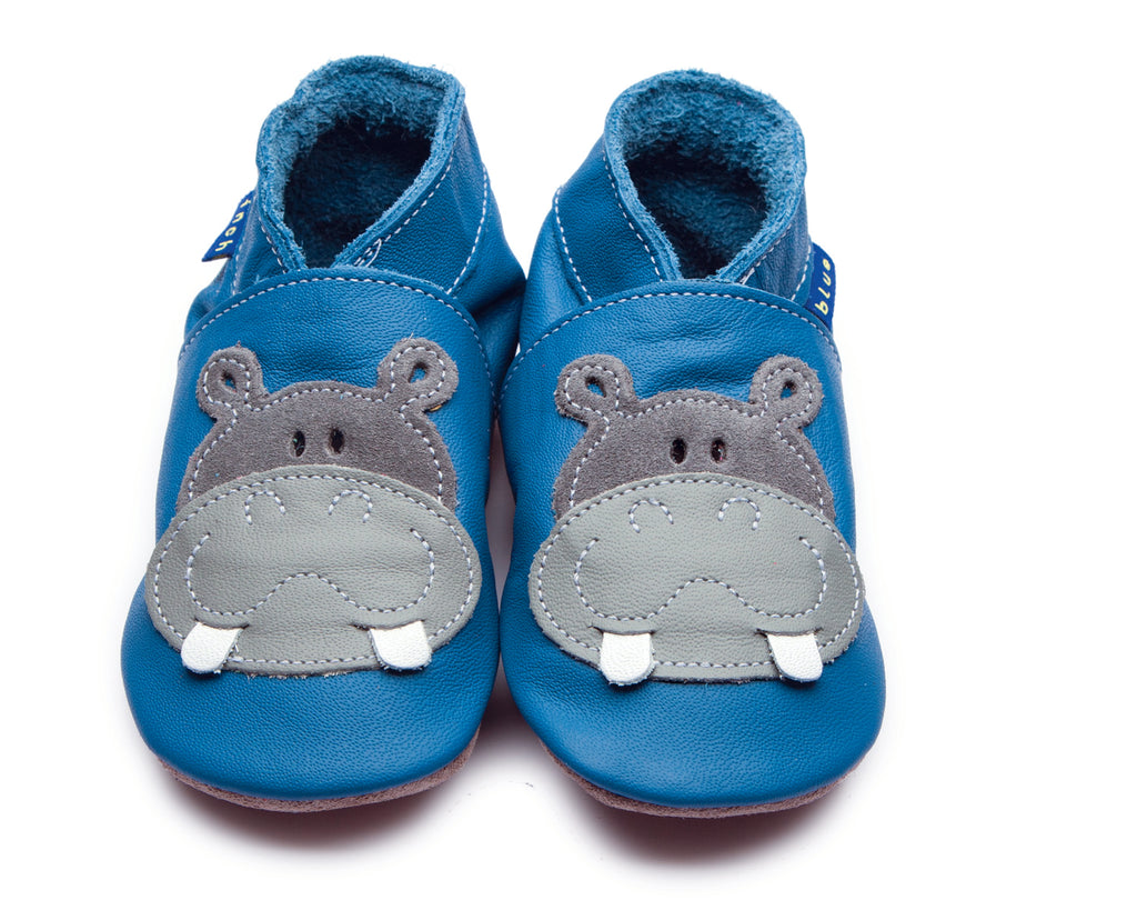 Hippo Shoes- S, M, L, XL | Inch Blue - Just Add Milk