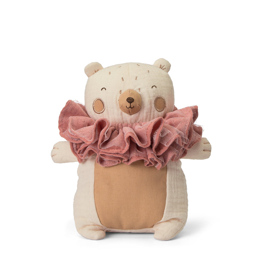 Cuddly Bear with Raggedy Ruff | Picca Loulou