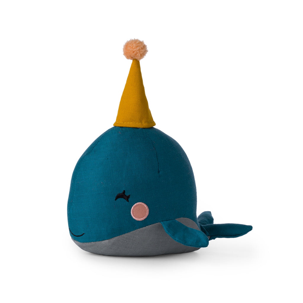 Picca Loulou Whale Soft Toy