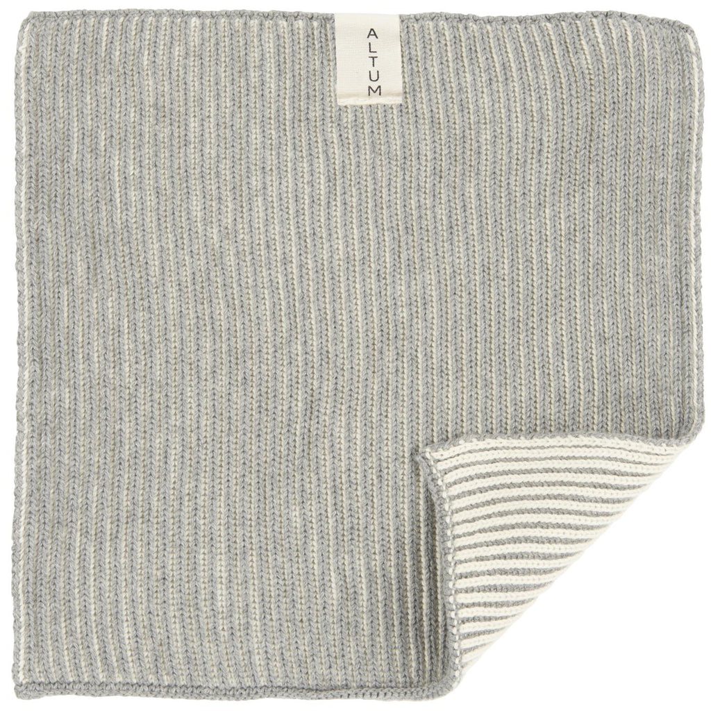 Ib Laursen- Luxury Cotton Knitted Wash Cloth - Just Add Milk