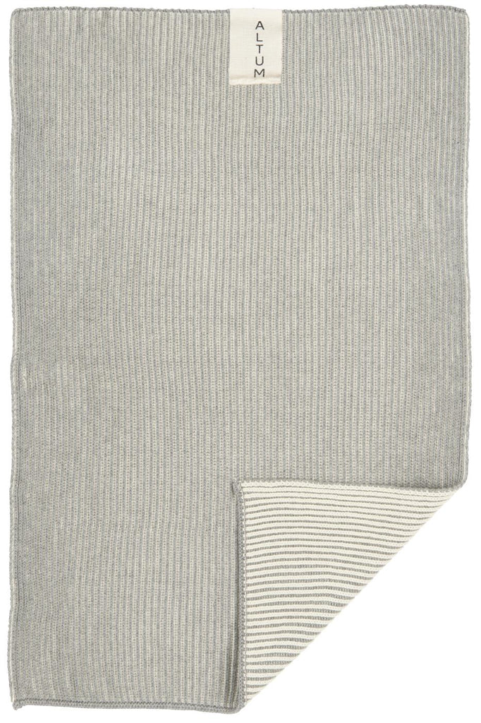 Ib Laursen- Luxury Knitted Cotton Towel, Various Colours - Just Add Milk