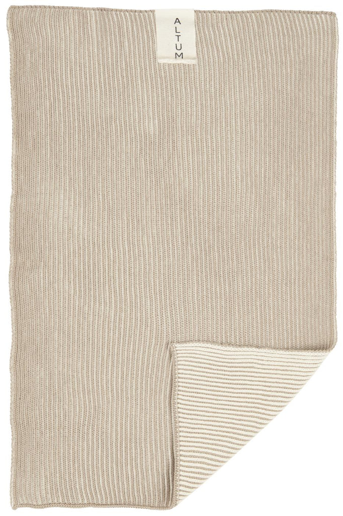 Ib Laursen- Luxury Knitted Cotton Towel, Various Colours