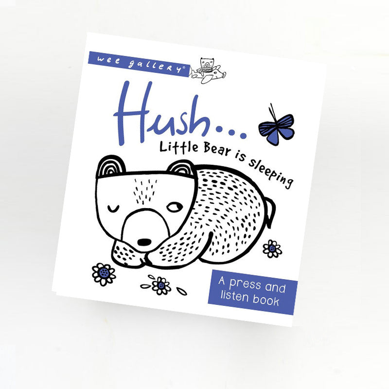 Hush Little Bear Sound book | Wee Gallery - Just Add Milk