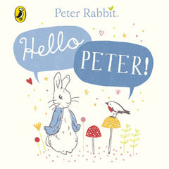 Hello Peter! - Peter Rabbit book - Just Add Milk