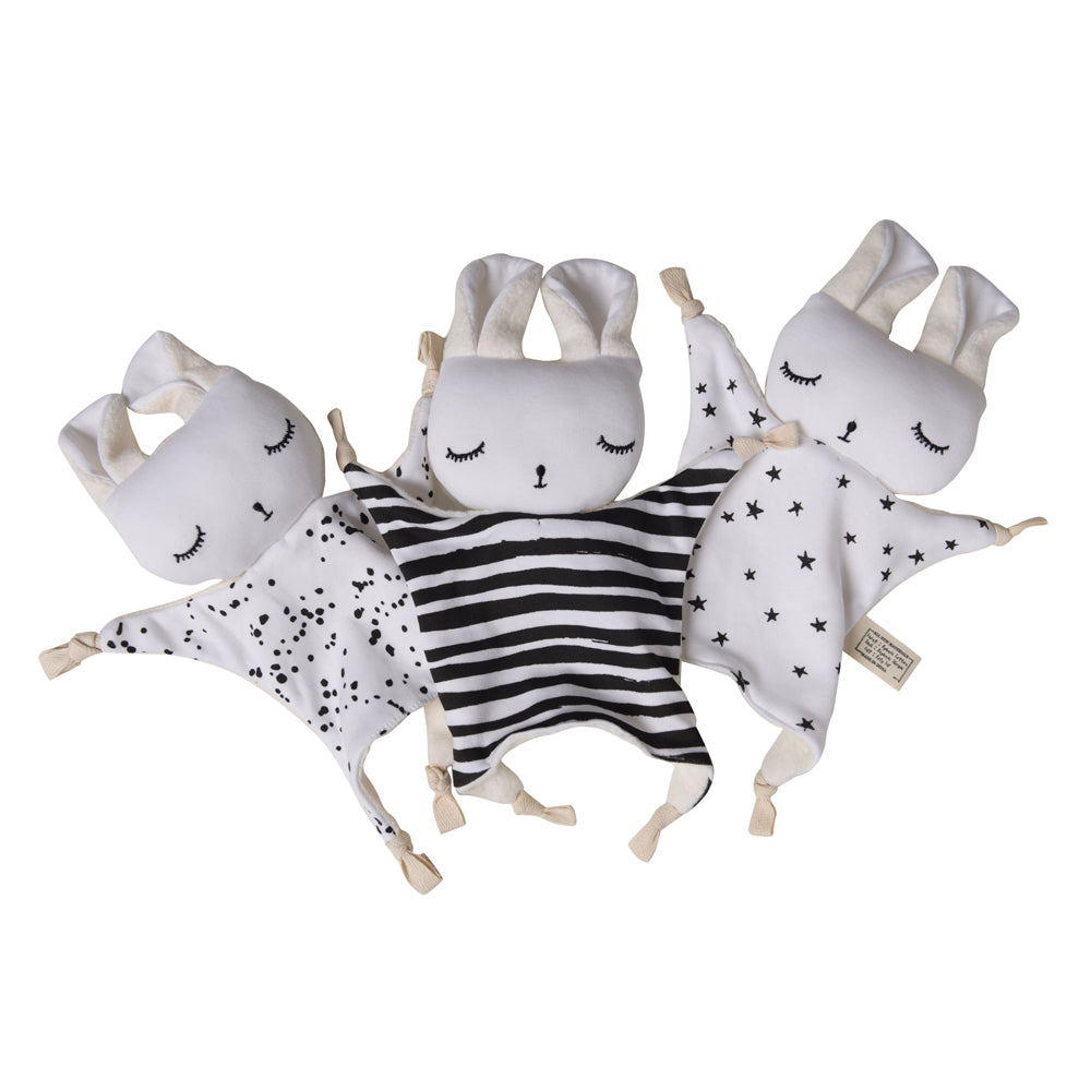 Cuddle Bunnies - Splatter, Stars & Stripes | Wee Gallery - Just Add Milk