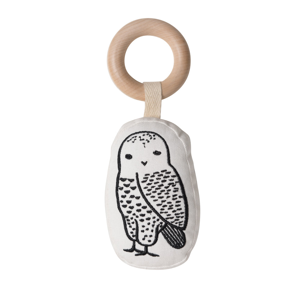 Owl Organic Teether | Wee Gallery - Just Add Milk
