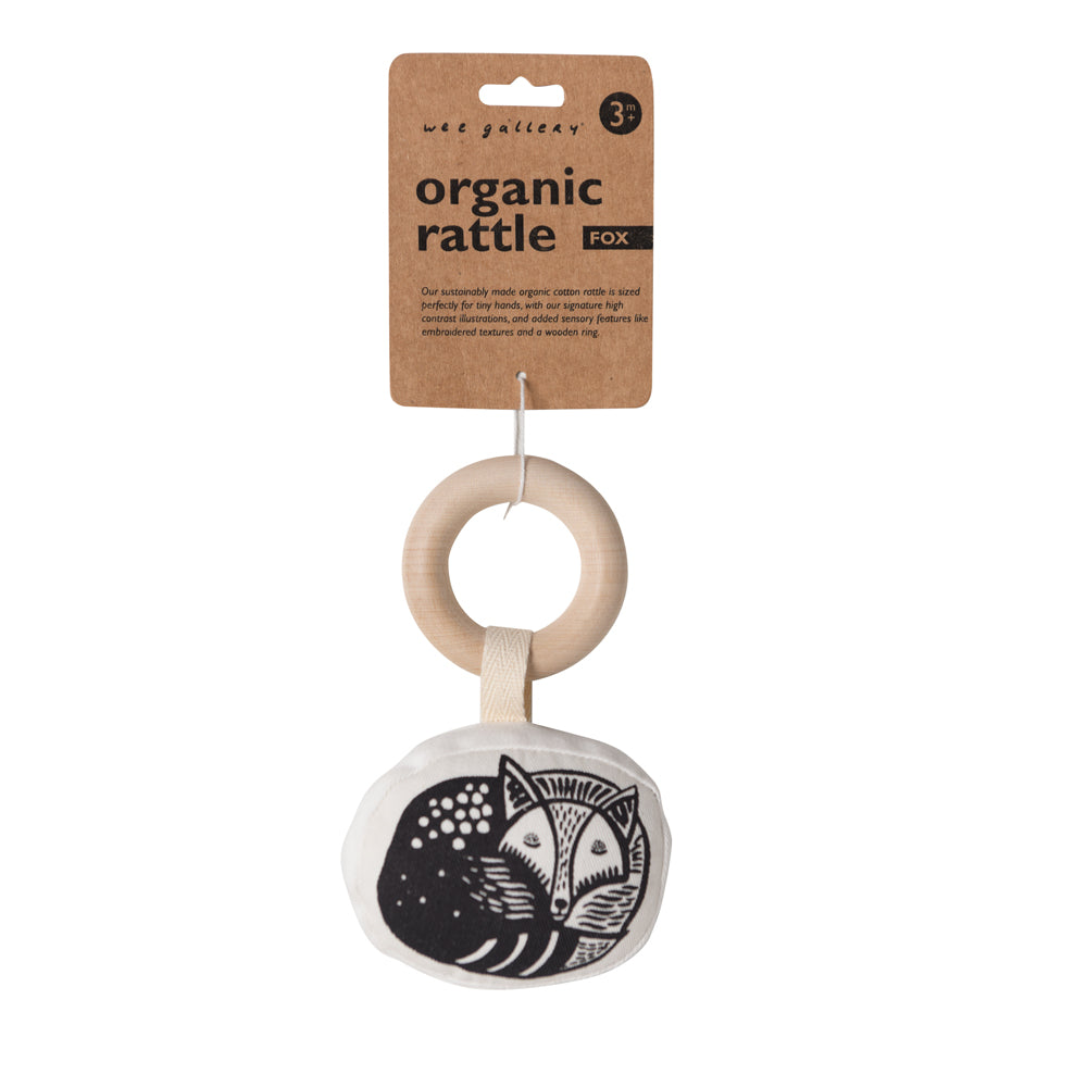 Fox Organic Teether | Wee Gallery - Just Add Milk