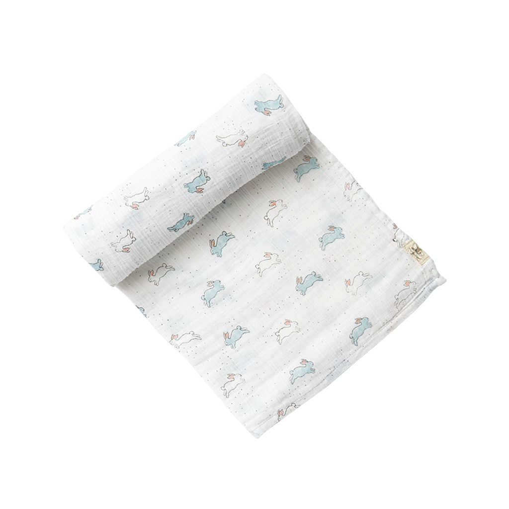 Bunny Hop Swaddle |  Pehr - Just Add Milk