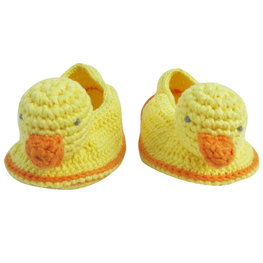 Crochet Domy Duck Booties | Albetta