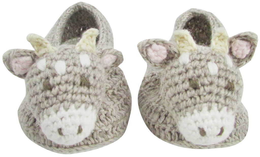 Crochet Connie Cow Booties | Albetta - Just Add Milk