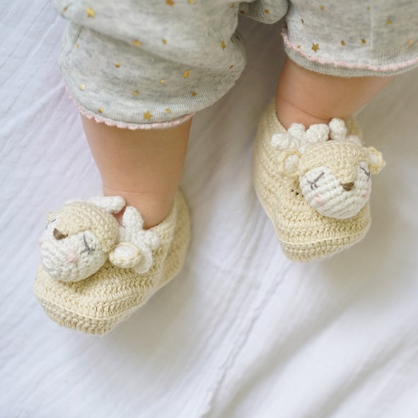 Crochet Deer Booties | Albetta