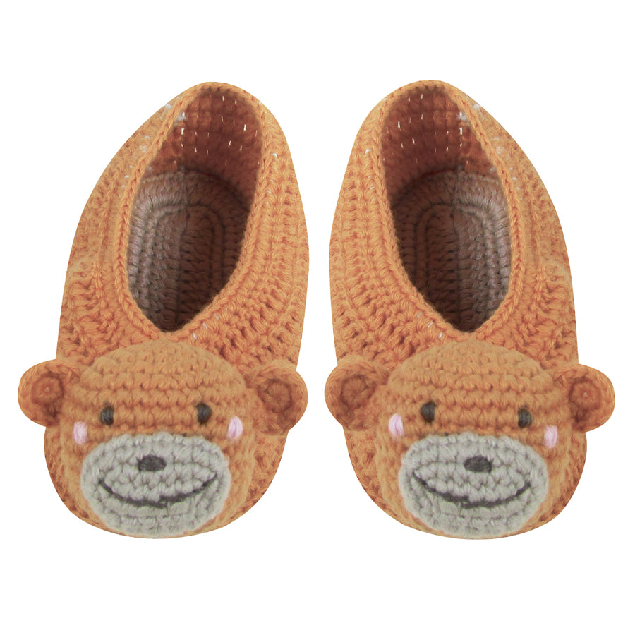Crochet Monkey Booties | Albetta