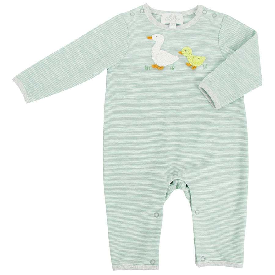 Crochet Domi Ducks Babygrow | Albetta - Just Add Milk
