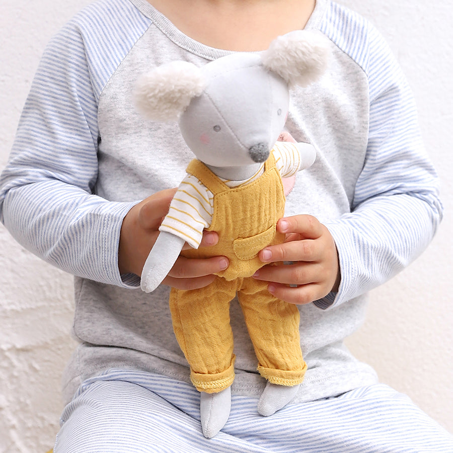 Cotton Velvet Mouse Midi Toy | Albetta