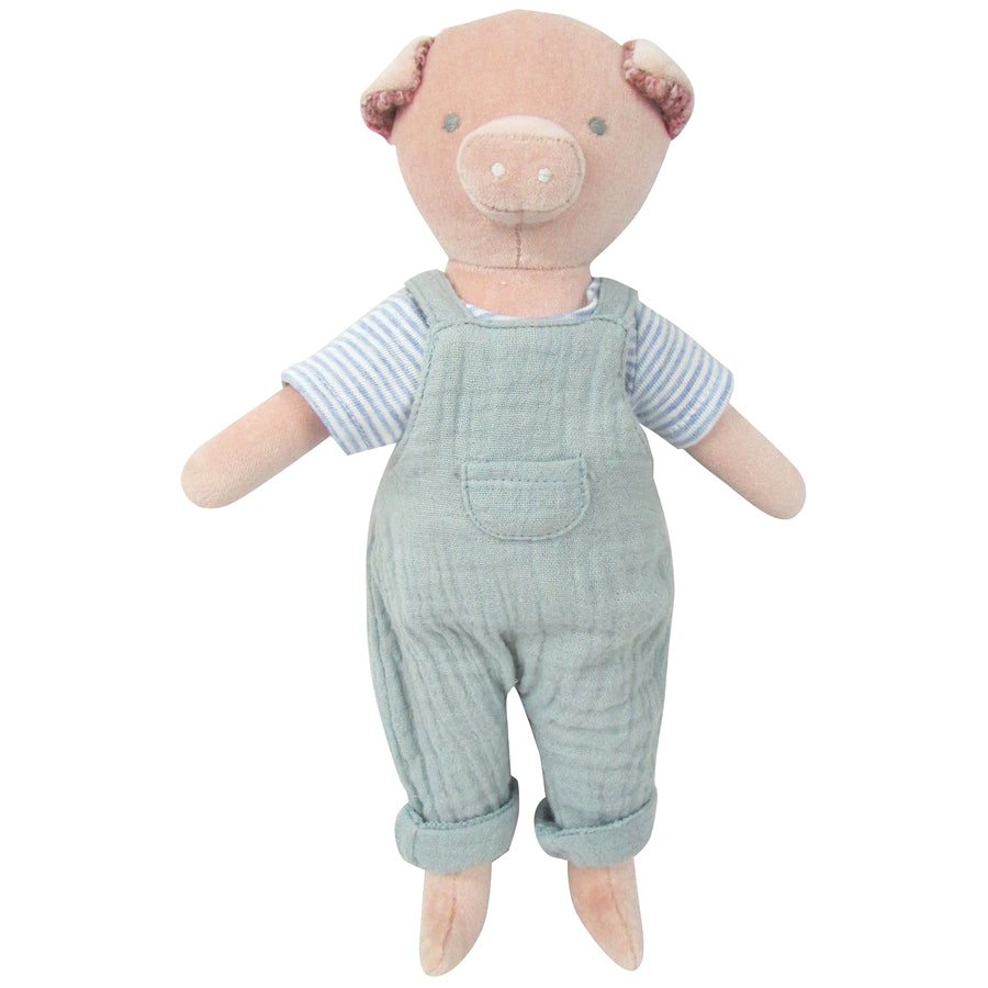 Cotton Velvet Pig Midi Toy | Albetta