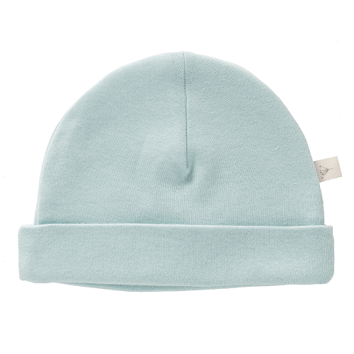Organic Baby Hat - Duck Egg Blue | Fresk