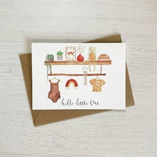 Hello Little One - New Baby Card | Sage & Heart