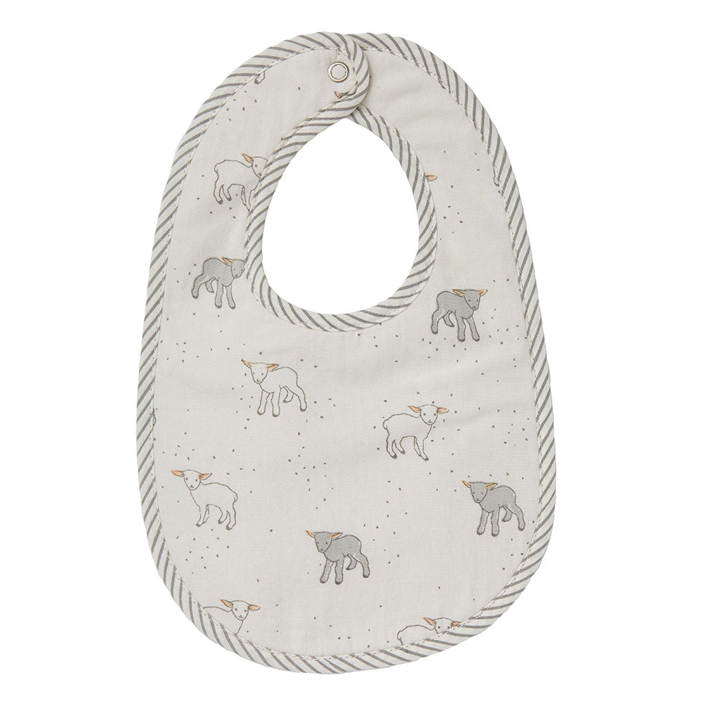 Just Hatched Bib Set of 3 | Pehr - Just Add Milk