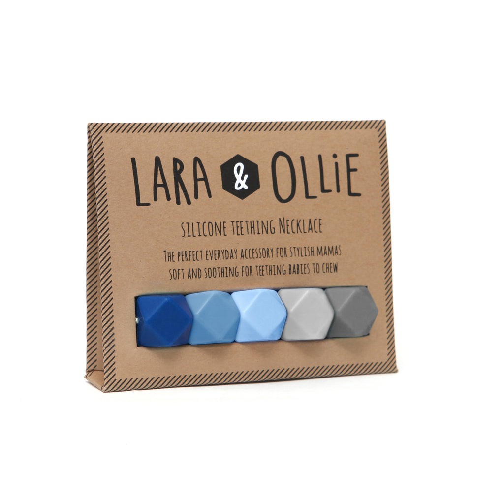 Lara & Ollie Kate Teething Necklace - Just Add Milk