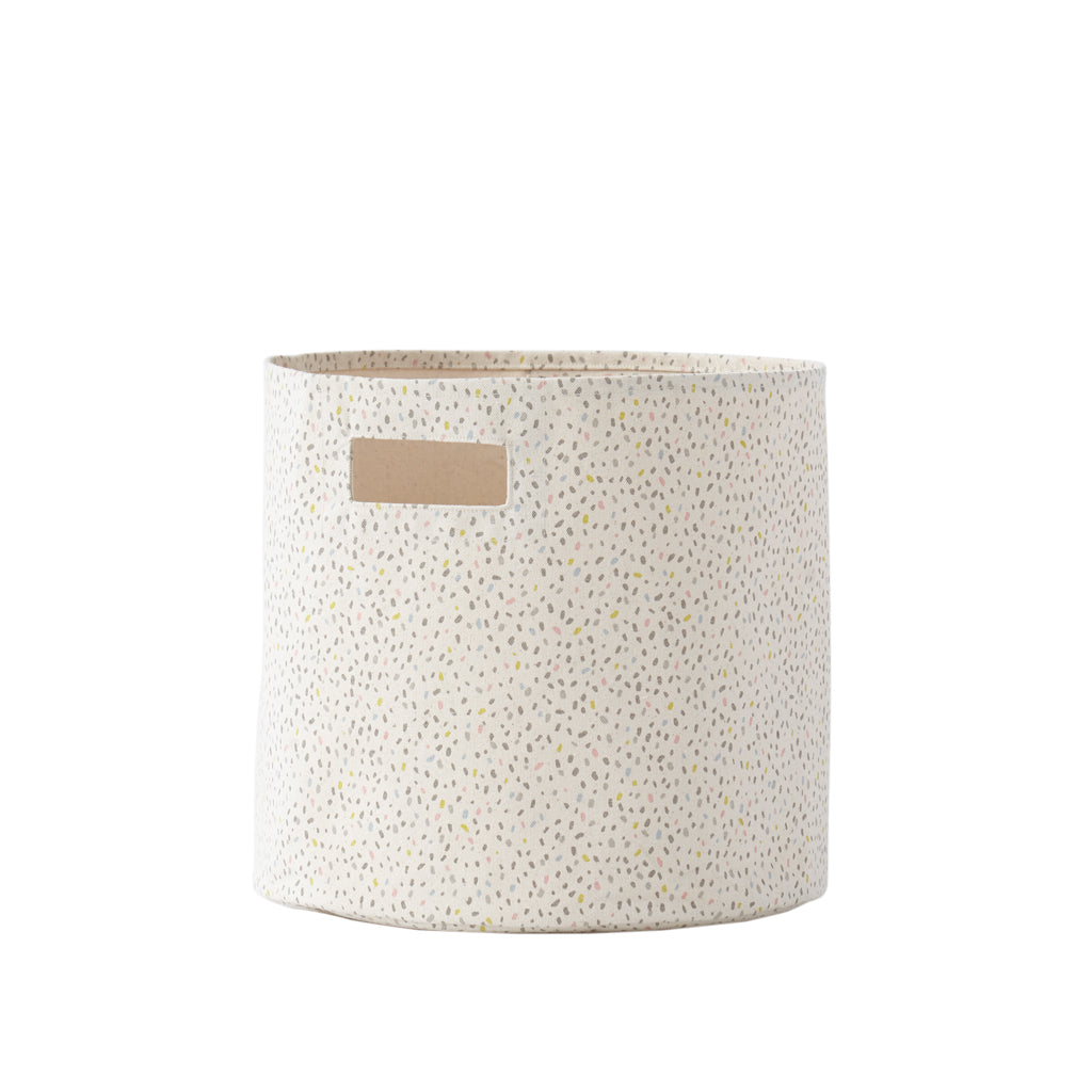 Multi Speckle Storage Bin | Petit Pehr - Just Add Milk