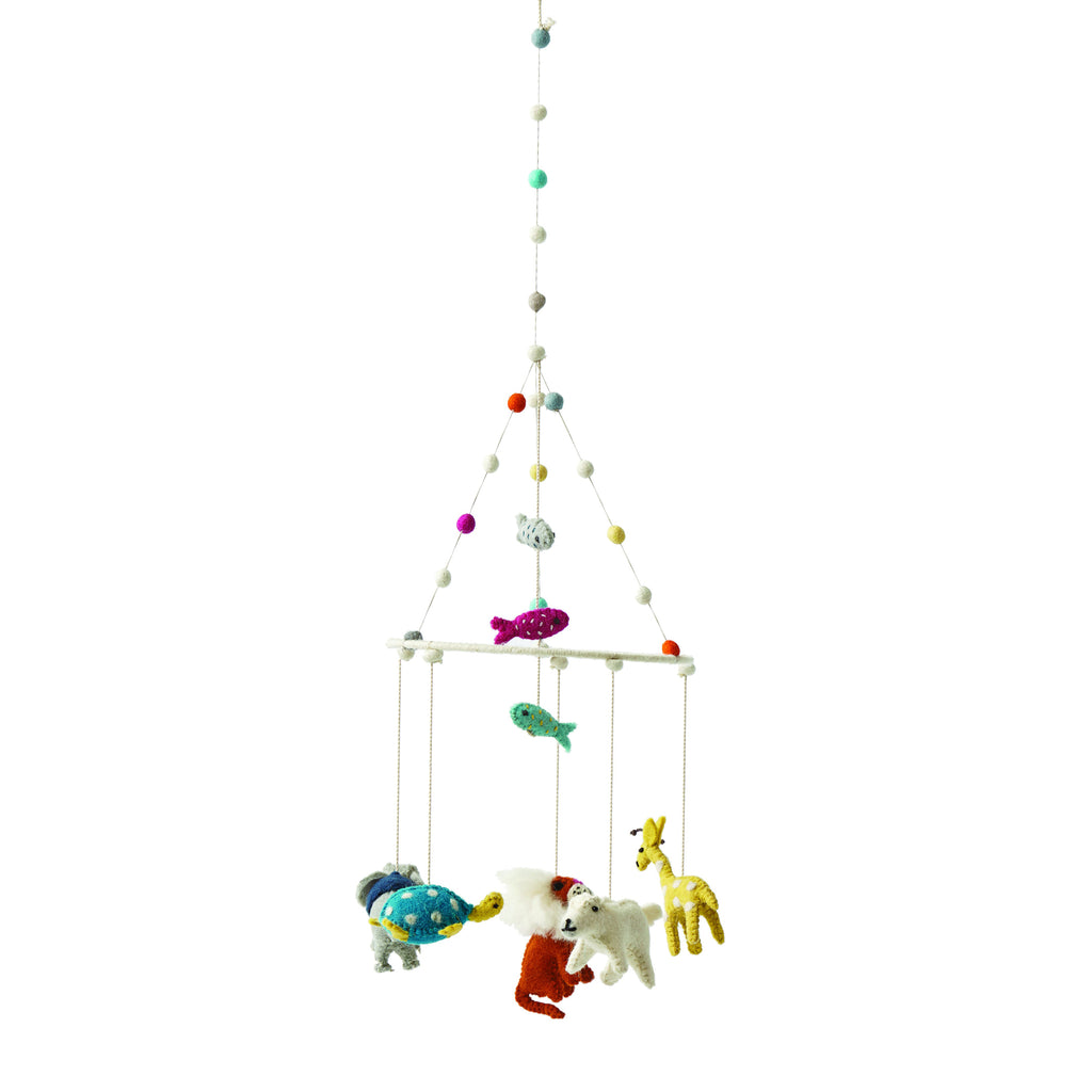 Noah's Ark Felt Mobile | Pehr (Free Post) - Just Add Milk