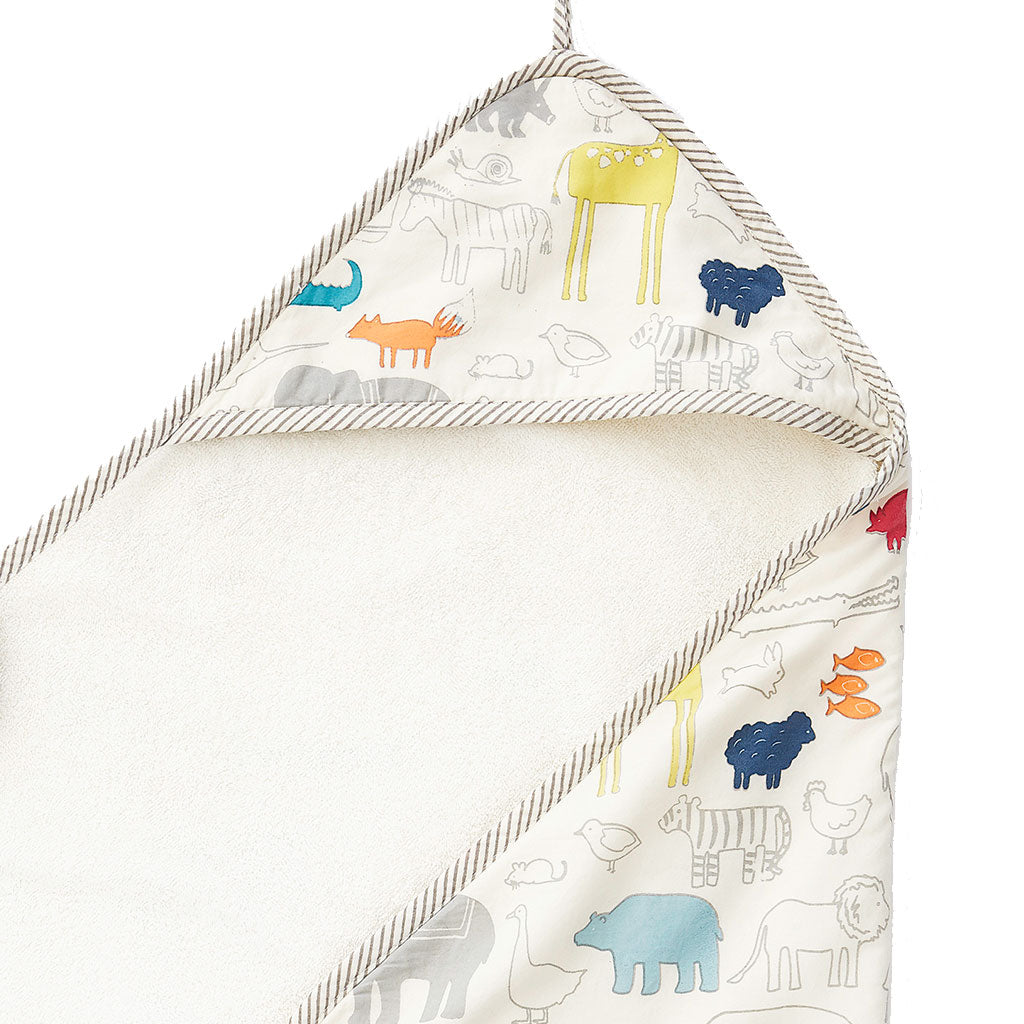 Noahs Ark Hooded Towel | Pehr - Just Add Milk