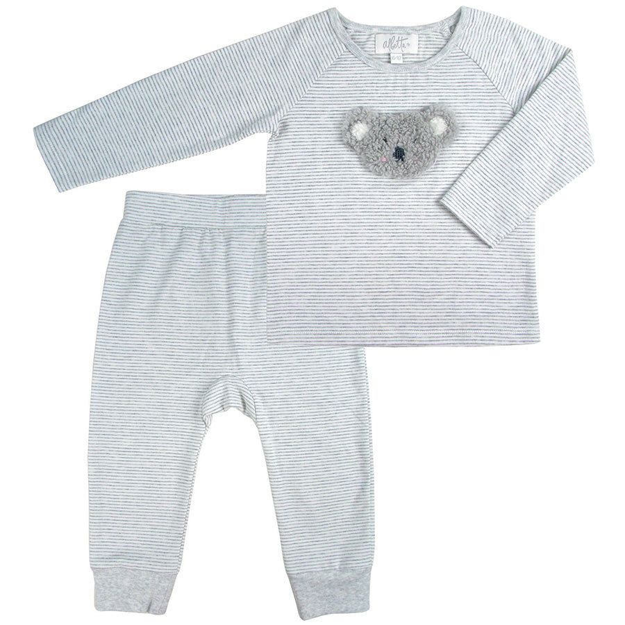 Snuggly Koala Applique Loungewear | Albetta