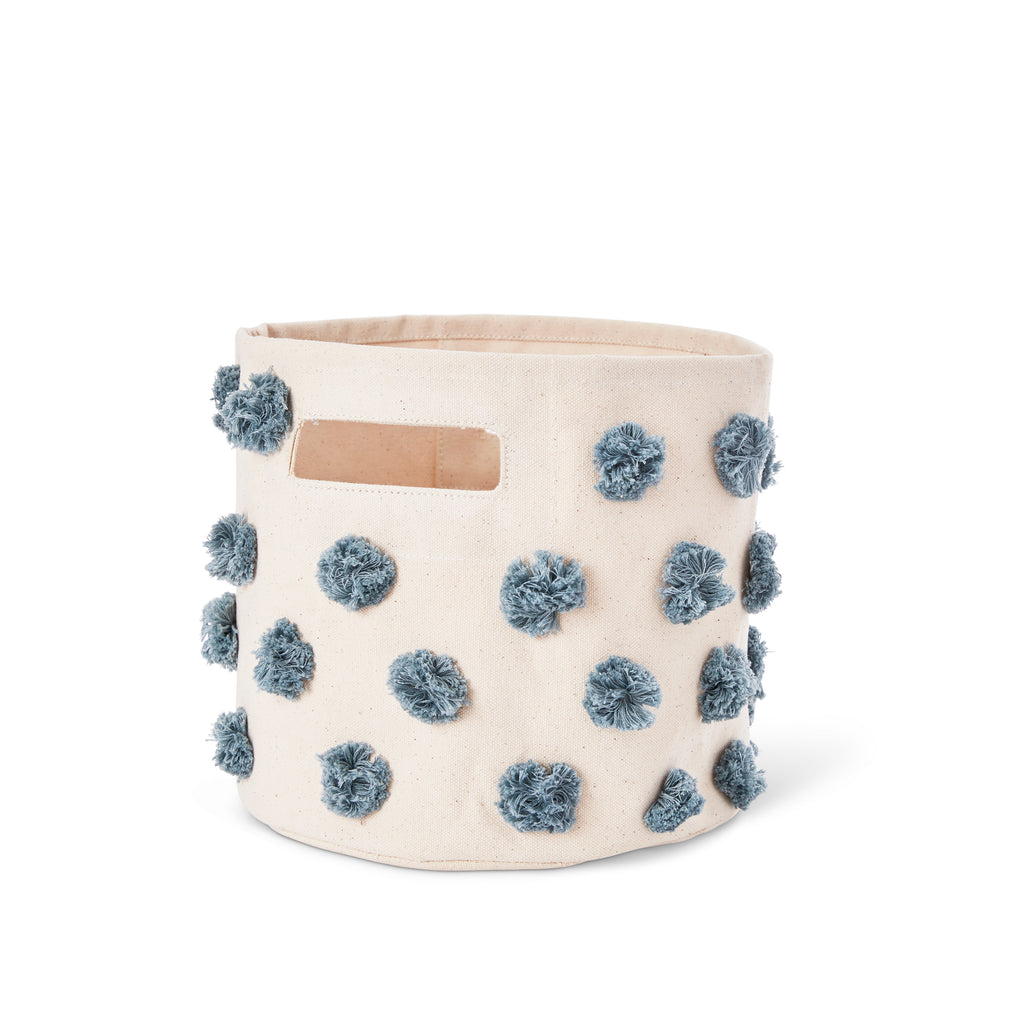 Deep-Sea Pom Pom Storage Bin | Pehr - Just Add Milk