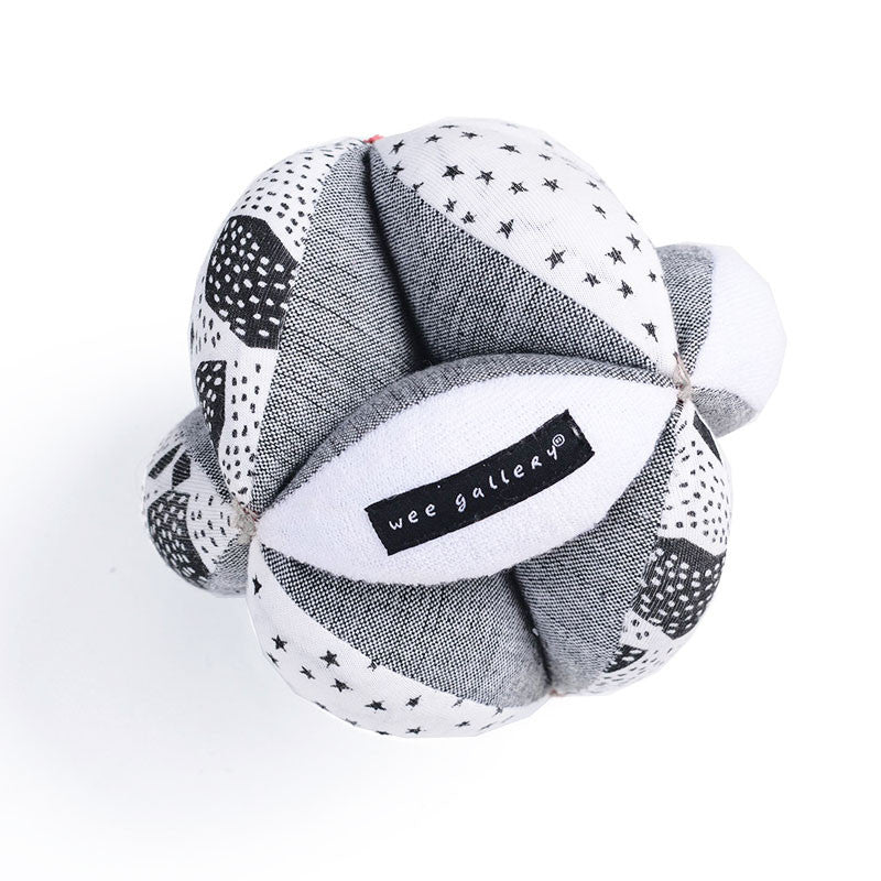 Organic Cotton Sensory Puzzle Ball from Wee Gallery