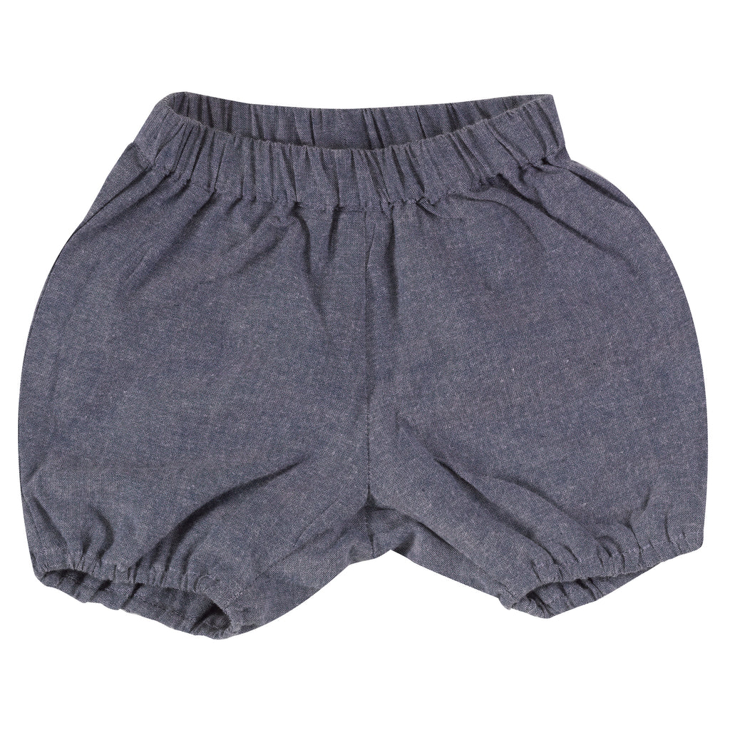 Bloomers Chambray Blue | Pigeon Organics - Just Add Milk