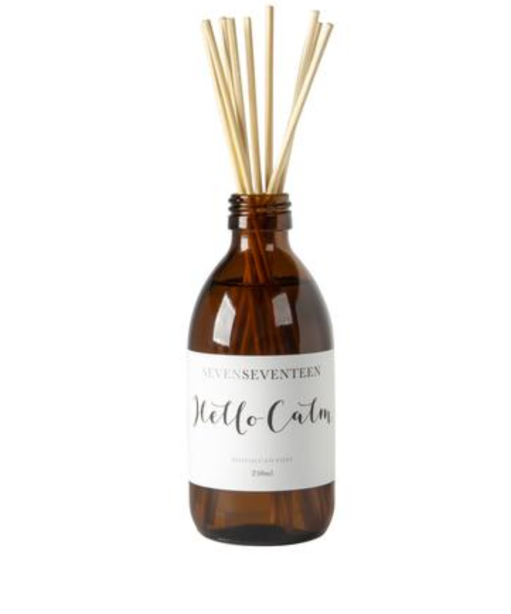 HELLO CALM - Moroccan Rose Diffuser: SevenSeventeen - Just Add Milk