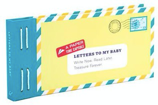 Letters to My Baby Book - Write now read later & treasure forever! - Just Add Milk
