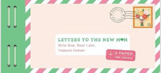 Letters to the New Mum book - Just Add Milk