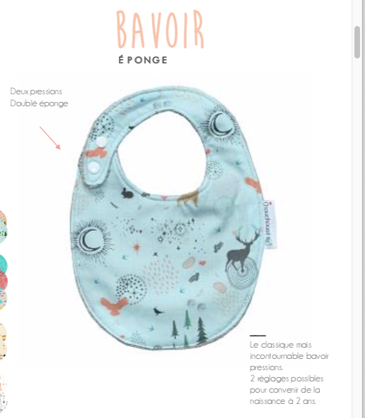 Cotton Towelling Baby Bib ( ONE LEFT )