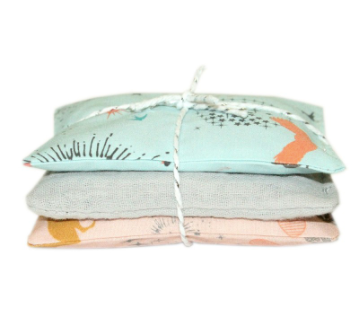 Mother & Baby French Lavender Pouches
