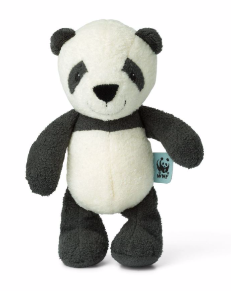 WWF- CUB CLUB PANU THE PANDA BELL RATTLE - Just Add Milk