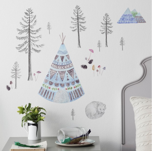 Scandi Wall stickers: Love Mae