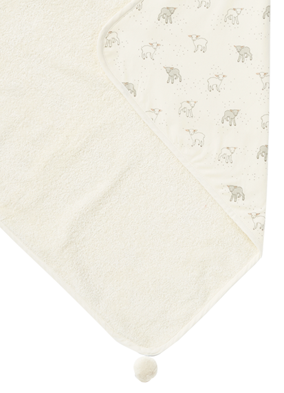 Lamb Hooded Towel | Pehr - Just Add Milk