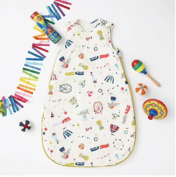 Big Top Baby Sleeping Bag- Pehr