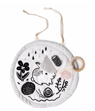 Bunny Organic Activity Pad - Meadow by Wee Gallery