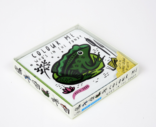 Who's In The Pond? Bath Book | Wee Gallery