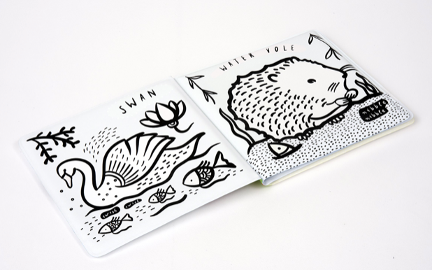 Who's In The Pond? Bath Book | Wee Gallery - Just Add Milk